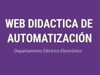 web didactica de automatizacion