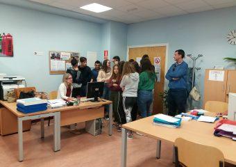 FP Básica de Comercio visita los talleres y aulas de nuestro Centro Integrado