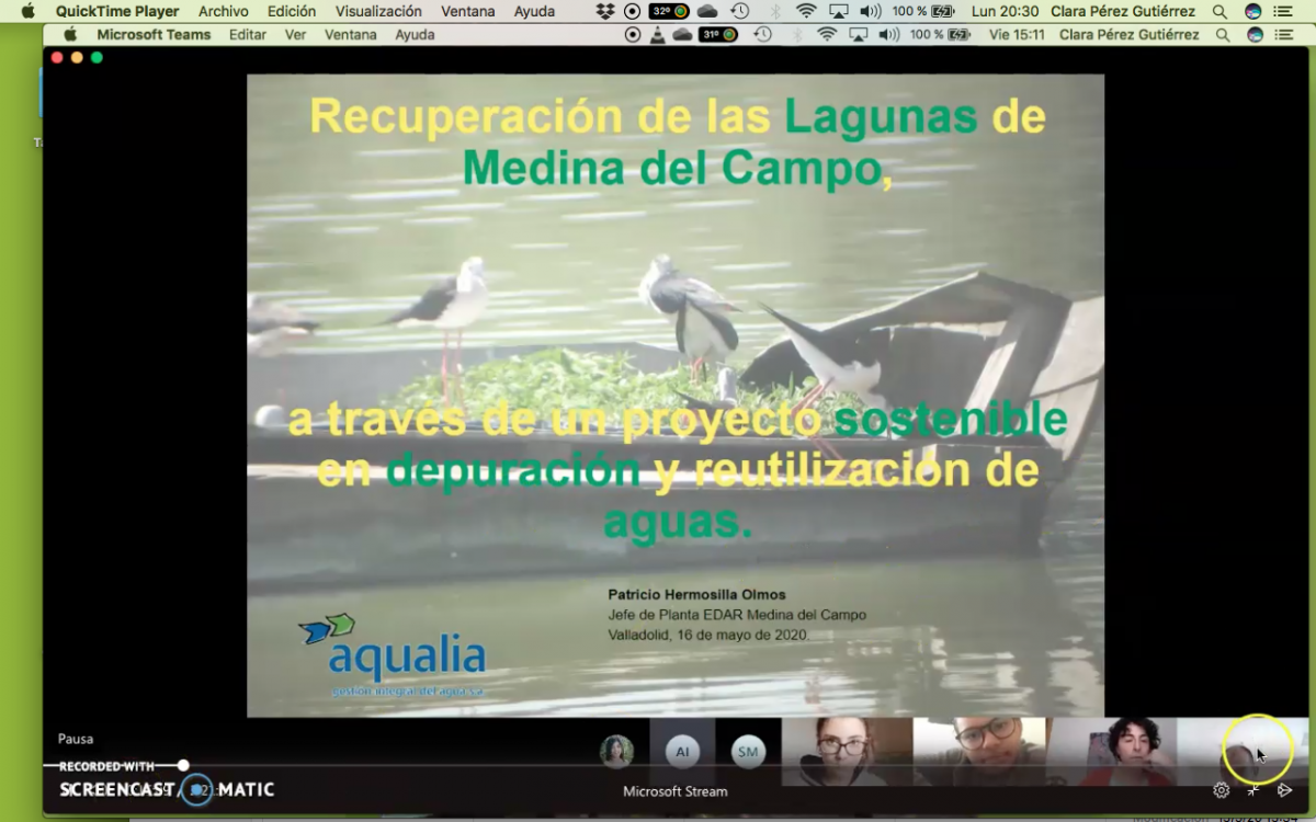 Conocemos un humedal cerca de Medina Del Campo repleto de aves.